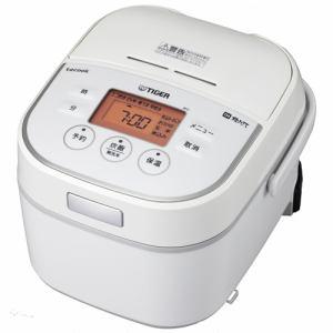 タイガー IH炊飯器 「炊きたて tacook」 3合 ホワイト JKU-A551-W