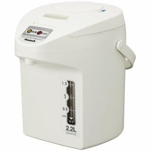 ピーコック 電気保温エアーポット 2.2L ホワイト WTP-22-W
