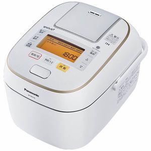 パナソニック 可変圧力IHジャー炊飯器(5.5合炊き) ホワイト SR-PW106-W