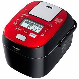 パナソニック スチーム&可変圧力IHジャー炊飯器(5.5合炊き) ルージュブラック SR-SPX106-RK