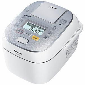 パナソニック スチーム&可変圧力IHジャー炊飯器(5.5合炊き) スノークリスタルホワイト SR-SPX106-W