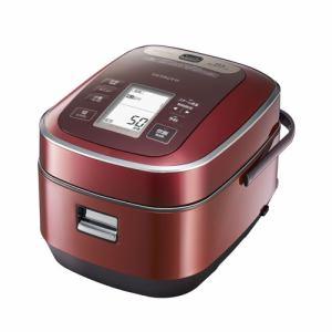 日立 RZ-YW3000M-R 圧力&スチームIHジャー炊飯器(5.5合炊き) メタリックレッド