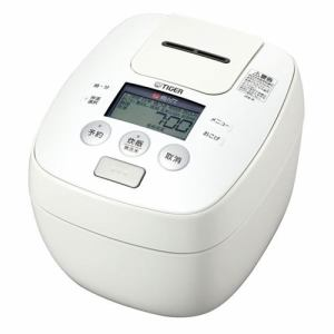 タイガー JPB-R100-W 圧力IH炊飯ジャー 「炊きたて」 (5.5合炊き) ホワイト