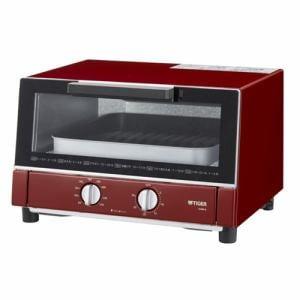 タイガー KAM-G130-R オーブントースター 「やきたて」 レッド