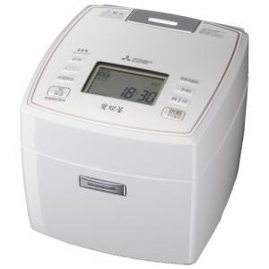 三菱 NJ-VV107-W IH炊飯ジャー 「備長炭 炭炊釜」 (5.5合炊き) ピュアホワイト