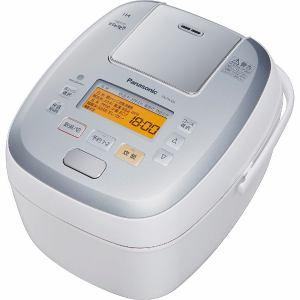 パナソニック SR-PA106-W 可変圧力IHジャー炊飯器  「可変圧力おどり炊き」(5.5合炊き) ホワイト