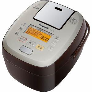 パナソニック SR-PA106-T 可変圧力IHジャー炊飯器  「可変圧力おどり炊き」(5.5合炊き) ブラウン