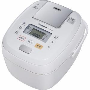 パナソニック SR-PB106-W 可変圧力IHジャー炊飯器 「可変圧力おどり炊き」(5.5合炊き) ホワイト