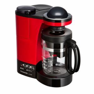 パナソニック NC-R400-R ミル付き浄水コーヒーメーカー レッド