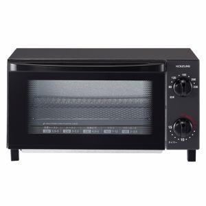コイズミ KOS1018K オーブントースター ブラック