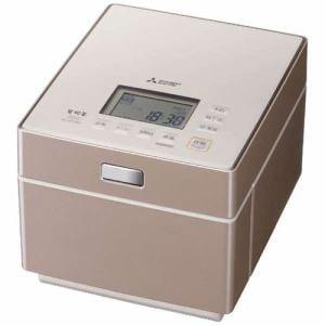 三菱 NJ-XS108J-P ジャー炊飯器 (5.5合炊き) テンダーロゼ