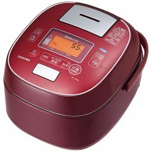 東芝 RC-10VSL-RS 可変圧力IHジャー炊飯器 (5.5合炊き) ディープレッド