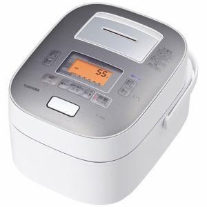 東芝 RC-10VXL-W 可変圧力IHジャー炊飯器 (5.5合炊き) グランホワイト