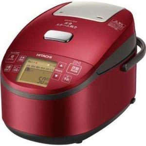 日立 RZ-AV100M-R 圧力スチームIH炊飯器(5.5合炊き) メタリックレッド