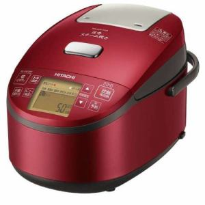 日立 RZ-AV180M-R 圧力スチームIH炊飯器(1升炊き) メタリックレッド