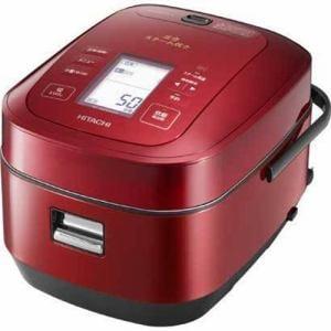 日立 RZ-AW3000M-R 圧力スチームIH炊飯器「ふっくら御膳」(5.5合炊き) メタリックレッド