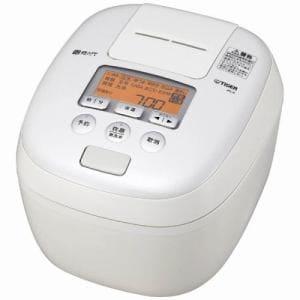 タイガー JPC-B101-W 圧力IH炊飯ジャー(5.5合炊き)「炊きたて」 ホワイト