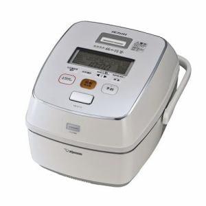 象印 NW-AT10-WZ 圧力IH炊飯ジャー(5.5合炊き)「極め炊き」 プライムホワイト