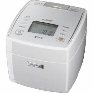 三菱 NJ-VV108-W IHジャー炊飯器「備長炭炭炊釜」 (5.5合炊き) ピュアホワイト