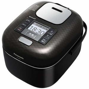 パナソニック SR-JW057-KK 可変圧力IHジャー炊飯器(3合) シャインブラック