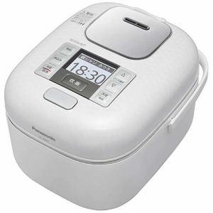パナソニック SR-JW057-W 可変圧力IHジャー炊飯器(3合) 豊穣ホワイト