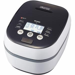 タイガー JPH-A100-WH 土鍋圧力IH炊飯ジャー 「炊きたて」(5.5合) ホワイトグレー