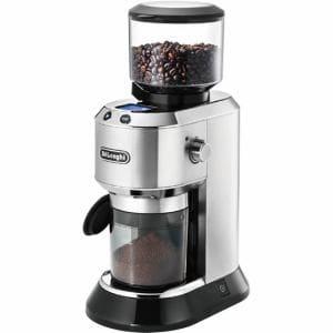 デロンギ KG521J-M 「デディカ」 コーヒーグラインダー メタルシルバー
