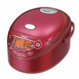 東芝 RC-6XKLR) IHジャー炊飯器(3.5合炊き) グランレッド