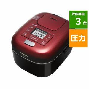 パナソニック SR-JX058-K 可変圧力IHジャー炊飯器 (3合炊き) 豊穣ブラック 炊飯器