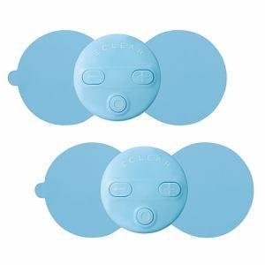 エレコム HCM-RP01BU2 コードレス低周波治療器 「エクリア リフリー」 ブルー 2枚入り