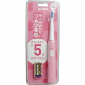 オムロン HT-B210-PK 音波式電動歯ブラシ ピンク