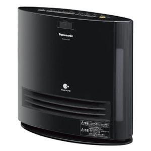 パナソニック 加湿機能付きセラミックファンヒーター(1250W) ブラック DS-FKX1205-K