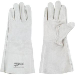 TRUSCO 溶接用5本指革手袋