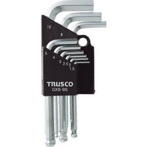TRUSCO ボールポイント六角棒レンチセット 9本組