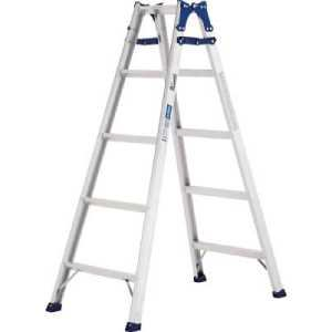 アルインコ 幅広踏ざん(55mm)はしご兼用脚立PRS-W