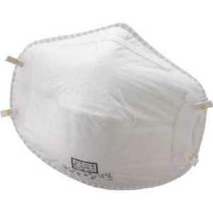 バイリーン 使い捨て式防じんマスクDL2 X-7502 オイルミスト対応