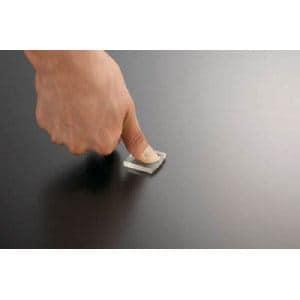 TRUSCO 耐震・防振・防音Gマット 30mm角 4個 透明
