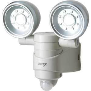 ライテックス 乾電池式 1W×2 LEDセンサーライト