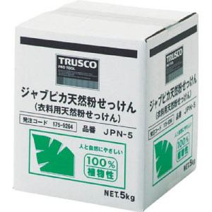 TRUSCO ジャプピカ天然粉せっけん 5kg
