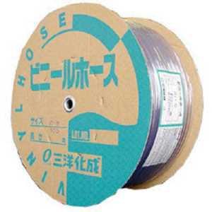 サンヨー 透明ホース10×12 100mドラム巻