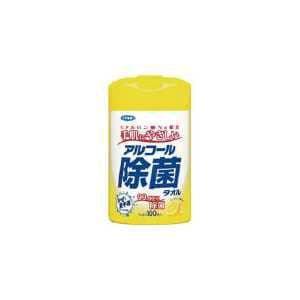 フマキラー アルコール除菌タオル100枚入