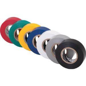 TRUSCO 脱鉛タイプ ビニールテープ 19X10m ブラック 1巻