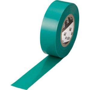 TRUSCO 脱鉛タイプ ビニールテープ 19X10m グリーン 1巻