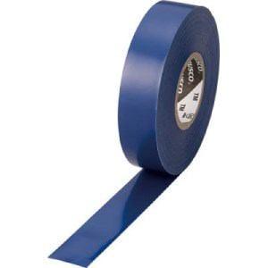 TRUSCO 脱鉛タイプ ビニールテープ 19X20m ブルー 1巻