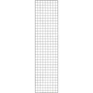 TRUSCO 棚用ディスプレイネット 金具付 450X1800 黒