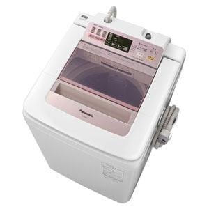 Panasonic 全自動洗濯機(8kg)ピンク NA-FA80H1-P