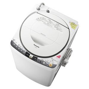 Panasonic 洗濯乾燥機 (洗濯8.0kg/乾燥4.5kg) ホワイト NA-FR80H8-W