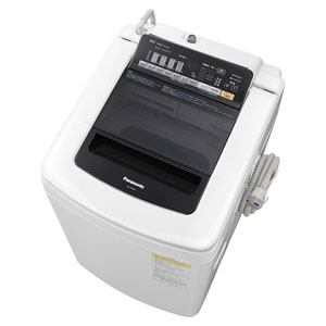 Panasonic 洗濯乾燥機 (洗濯9.0kg/乾燥4.5kg) ブラック NA-FW90S1-K