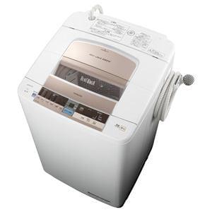 HITACHI 全自動洗濯機 「ビートウォッシュ」(洗濯9.0kg) シャンパン BW-9TV-N