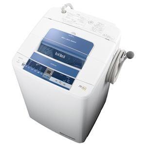 HITACHI 全自動洗濯機 「ビートウォッシュ」(洗濯8.0kg) ブルー BW-8TV-A